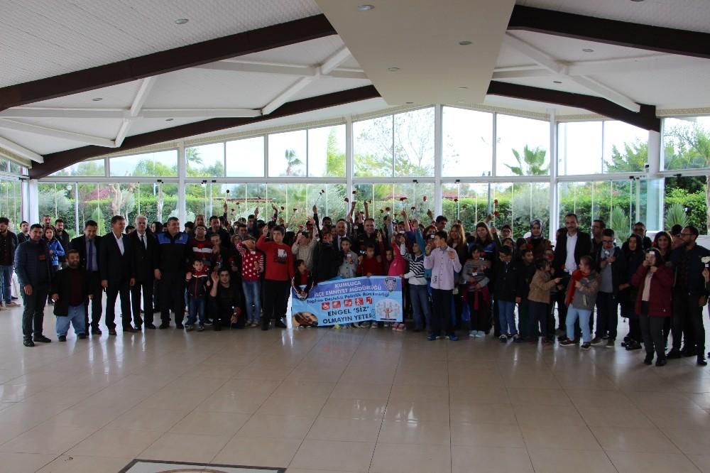 Kumluca'da 3 Aralık Dünya Engelliler Günü etkinlikleri