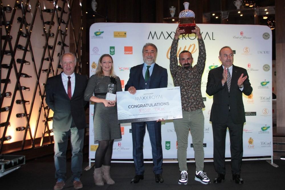 Max Royal Cup'ta şampiyon Recep Turan