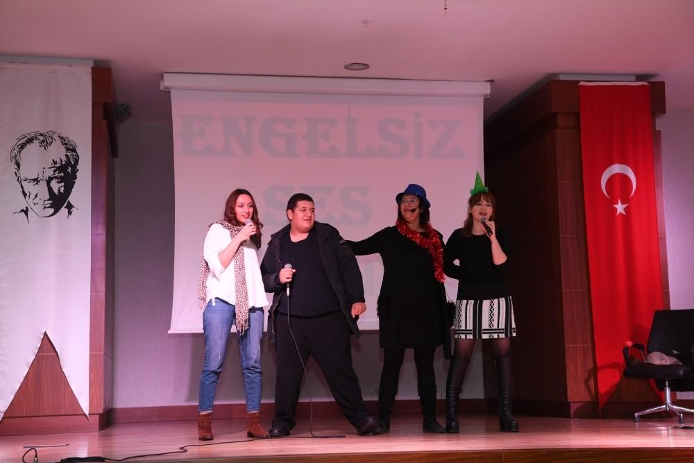 """Minik öğrencilerden """"Engelsiz Ses Türkiye"""" etkinliği"""
