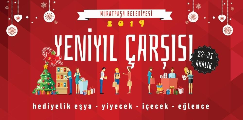 Muratpaşa'da yeni yıl heyecanı başlıyor