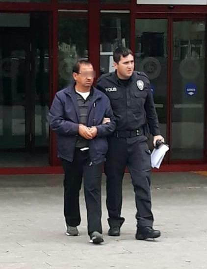 Pazarda kadına tacizde bulunan bir kişi yakalandı