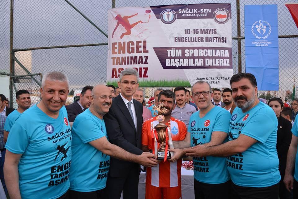 Sağlık Sen Antalya Şube Başkanı Sinan Kuluöztürk: