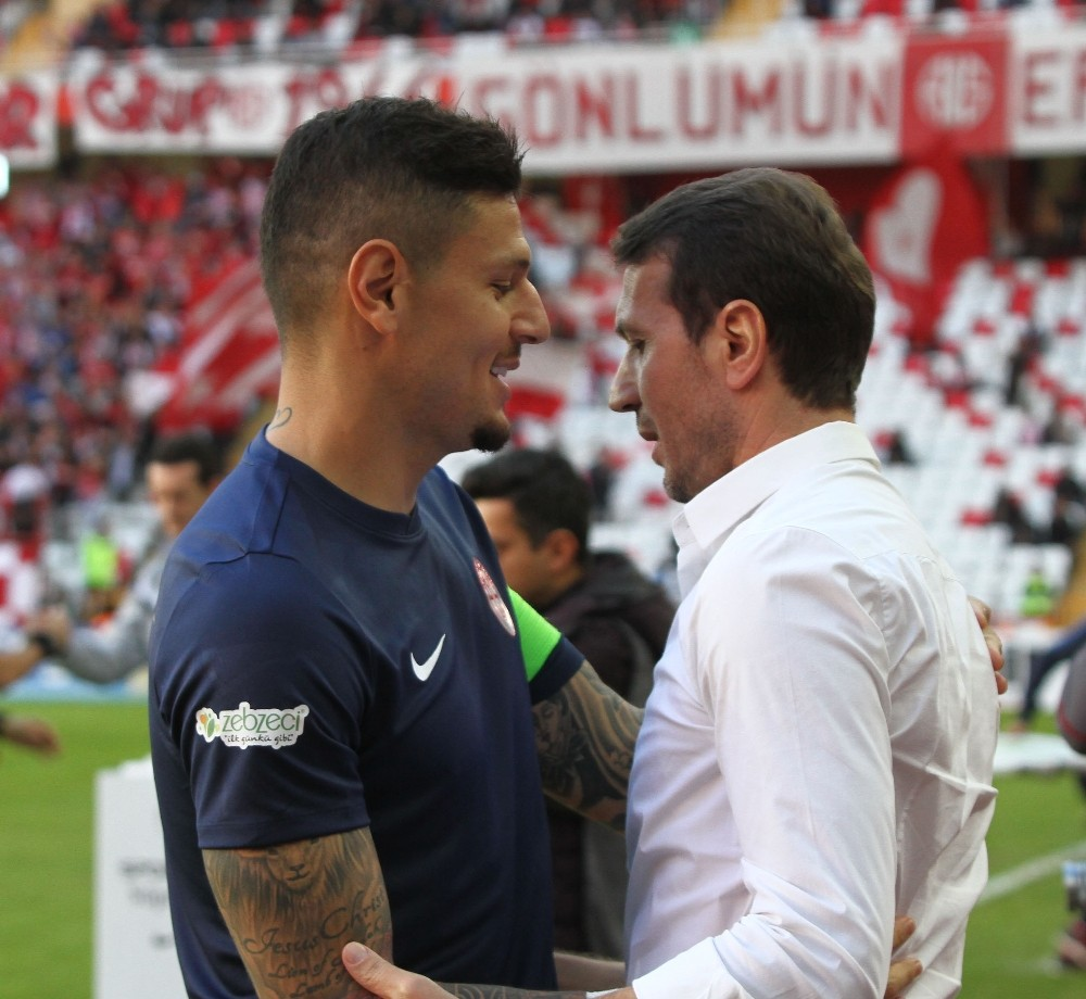 Spor Toto Süper Lig: Antalyaspor: 1 – Göztepe: 0 (İlk yarı)