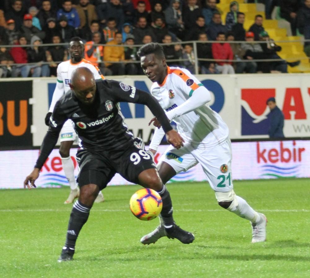 Spor Toto Süper Lig: Aytemiz Alanyaspor: 0 – Beşiktaş: 0 (Maç sonucu)