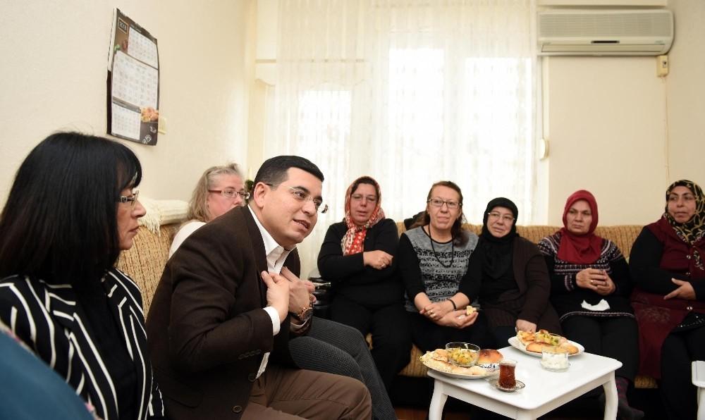 Tütüncü'den hanımlara spor salonu müjdesi