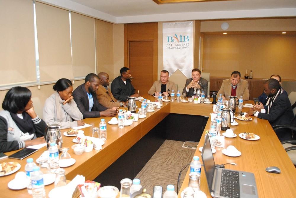 Uganda'dan Batı Akdenizli iş insanlarına davet