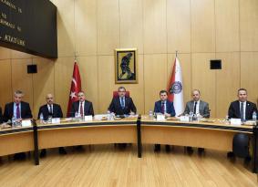 Celal Uzunkaya Başkanlığında 2019'un İlk Koordinasyon Toplantısı Düzenlendi