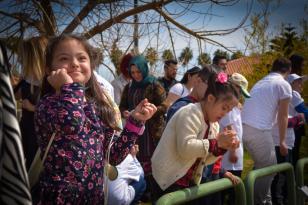 Down Sendromlu Çocuklar Doğa İle İç İçe Bir Gün Geçirdi