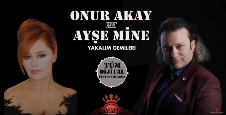 Onur Akay ve Ayşe Mine'den sürpriz düet!