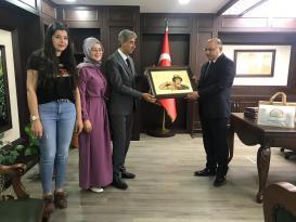 Kardeş İlçemiz Şanlıurfa Halfeti Antalya'da