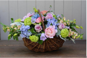 Çiçek sepeti yaparken kullanmanız gereken çiçekler