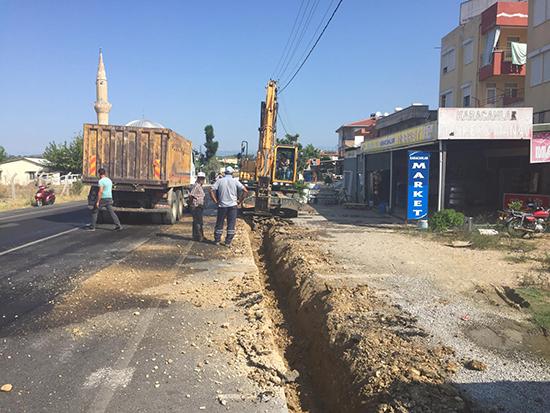 ASAT ekipleri Manavgat'ta çalışmalarını sürdürüyor