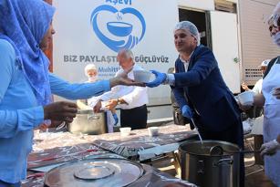 Antalya Büyükşehir'in aşure programı sona erdi