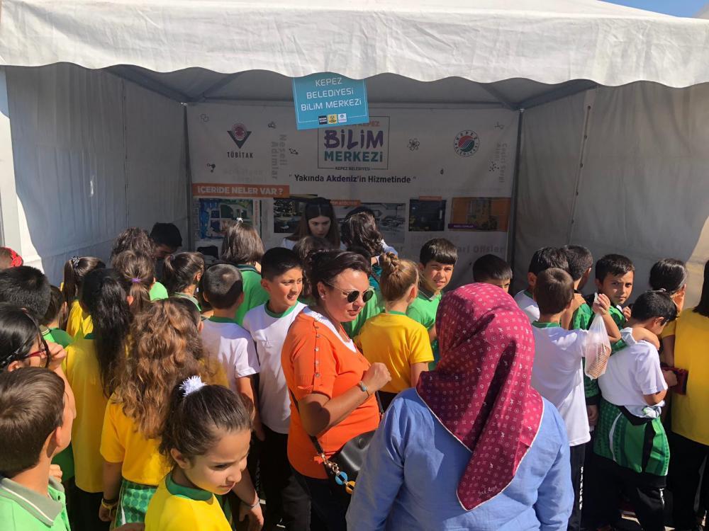Antalya Kepez, 7. Konya Bilim Festivali'nde