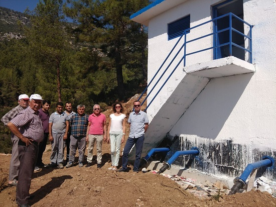 Antalya Kaş Kozağaç'ın içme suyu sorunu çözüldü