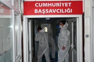 KEMER'DE KORONAVİRÜS'E KARŞI ÖNLEM ÇALIŞMALARI DEVAM EDİYOR