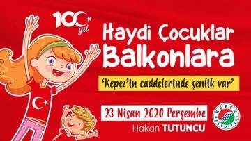 Tütüncü'den çocuklara 23 Nisan sürprizi