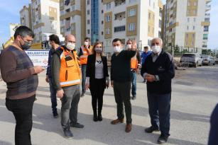Antalya'nın en prestijli caddesini incelendi