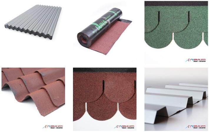 Çatı Malzemeleri Özellikleri ve Kullanım Alanları