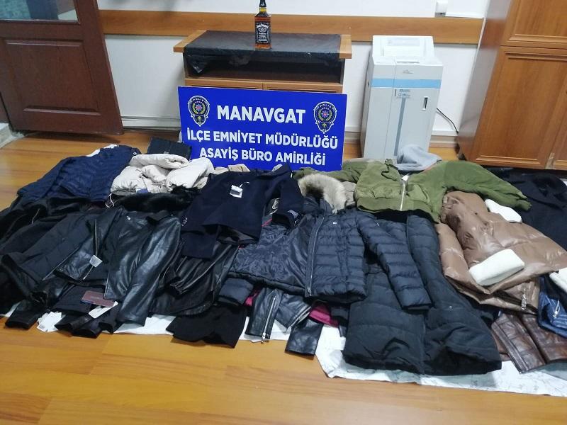 Kepez, Manavgat, Alanya İlçelerinde AVM'lerden Tekstil Ürünü Çalınması Olaylarının Şüphelileri Manavgat'ta Yakalandı