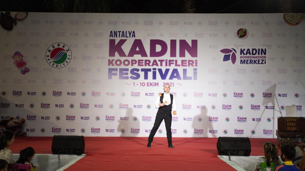 Antalya Kepez'de renkli festival
