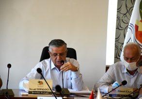 Kemer Belediyesi Ekim ayı meclis toplantısı